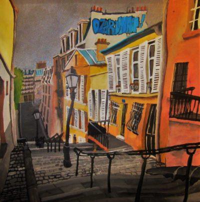 París, Montmartre. 18e arrondisement.