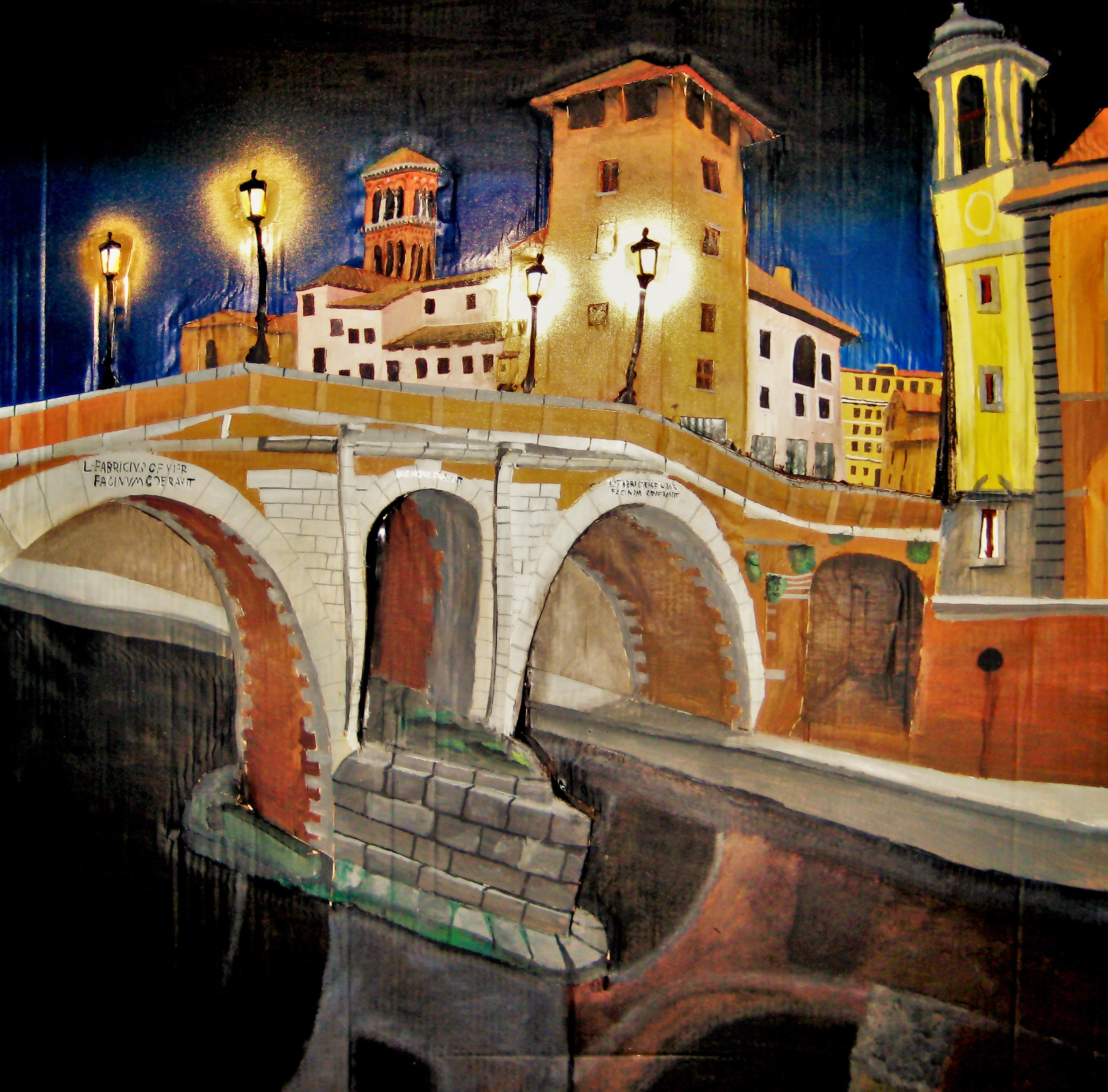 Roma, Ponte Fabricio.