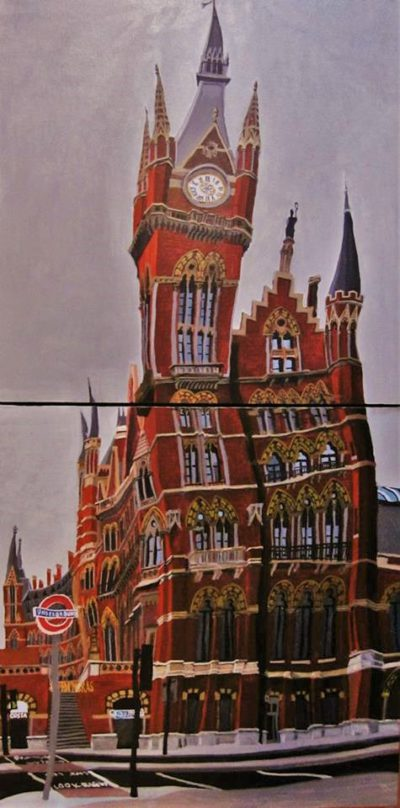 Londres, Saint Pancras Station.